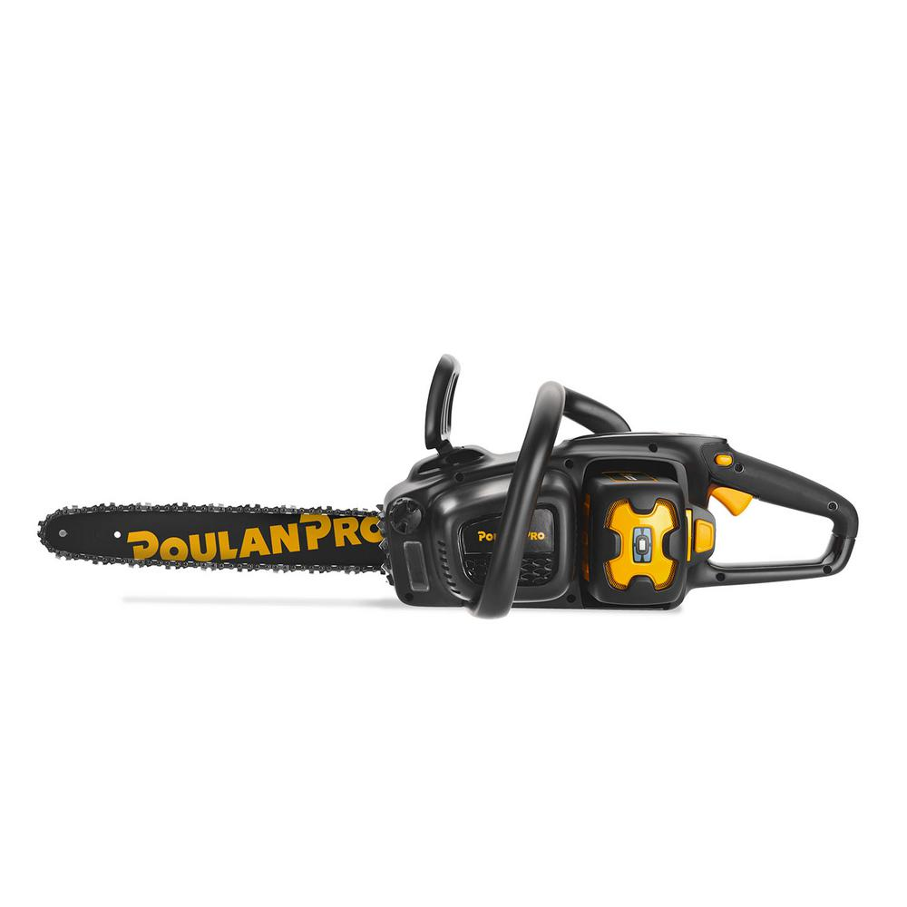 Poulan Pro PRCS16i 16 in. 58-Volt Lithium-Ion Battery Cordless Hand Chainsaw