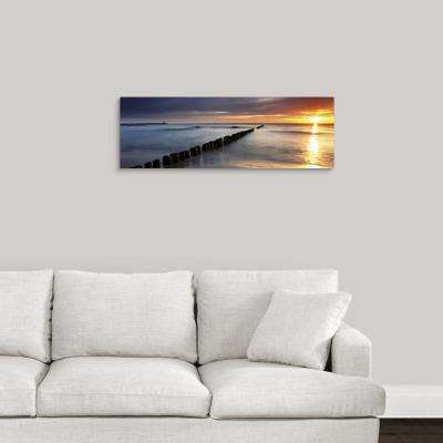 """Natural Ombre"" by May Art Canvas Wall Art"