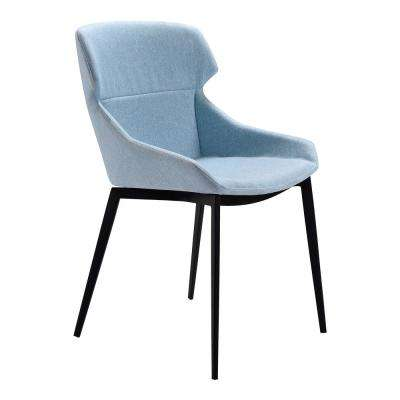 Kenna Blue Fabric Dining Chair - Set of 2