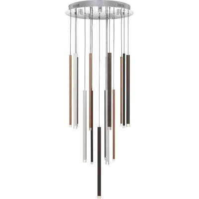Henning Integrated LED Polished Chrome Pendant