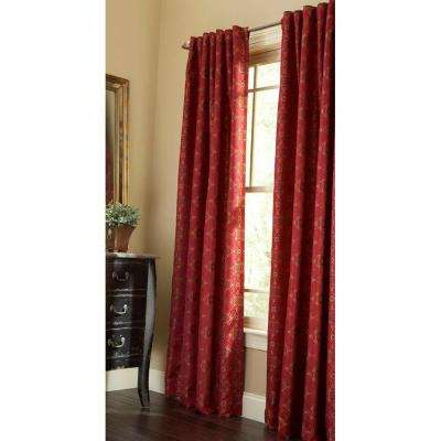 Semi-Opaque Barn Pageant Back Tab Curtain
