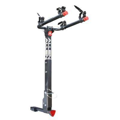 70 lbs. Capacity Locking 2-Bike Vehicle 2 in. and 1.25 in. Hitch Bike Rack