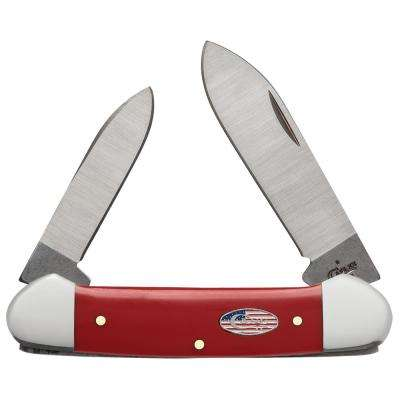 American Workman Red Synthetic Canoe