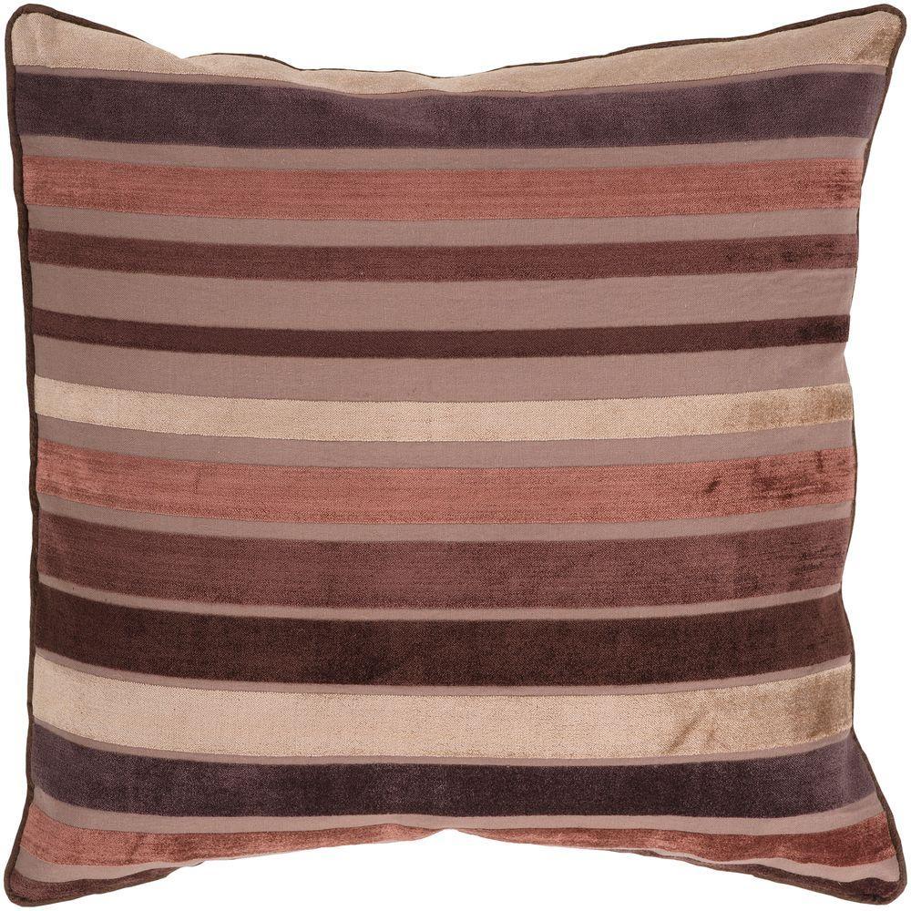 Artistic Weavers StripesC2 22 in. x 22 in. Decorative Pillow