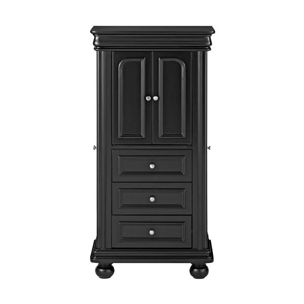 Home Decorators Collection Genevieve Black Jewelry Armoire 9833600200