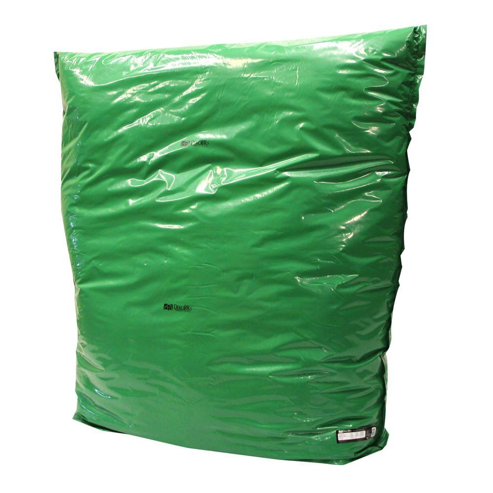 Dekorra 60 in. L x 60 in. H X Large Fiberglass Encapsulated Green Plastic Insulation Pouch