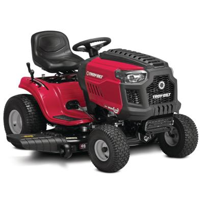 Bronco 46 in. 547 cc Engine Automatic Drive Gas Riding Lawn Tractor with Mow in Reverse
