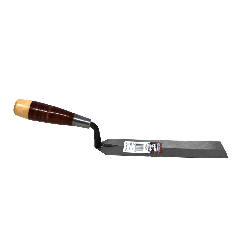 8 in. x 2 in. Margin Trowel - Leather Handle