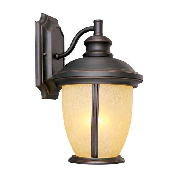 Bristol Oil-Rubbed Bronze Outdoor Wall Lantern Sconce