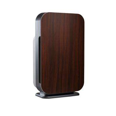Customizable Air Purifier with HEPA-Silver Filter to Remove Allergies Mold and Bacteria in Rosewood