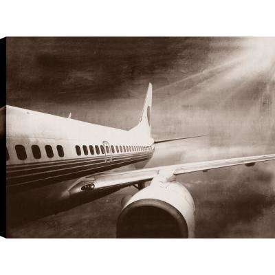 Holiday Time, Transportation Art, Canvas Print Wall Art Dcor 34X46 Ready to hang by ArtMaison.ca