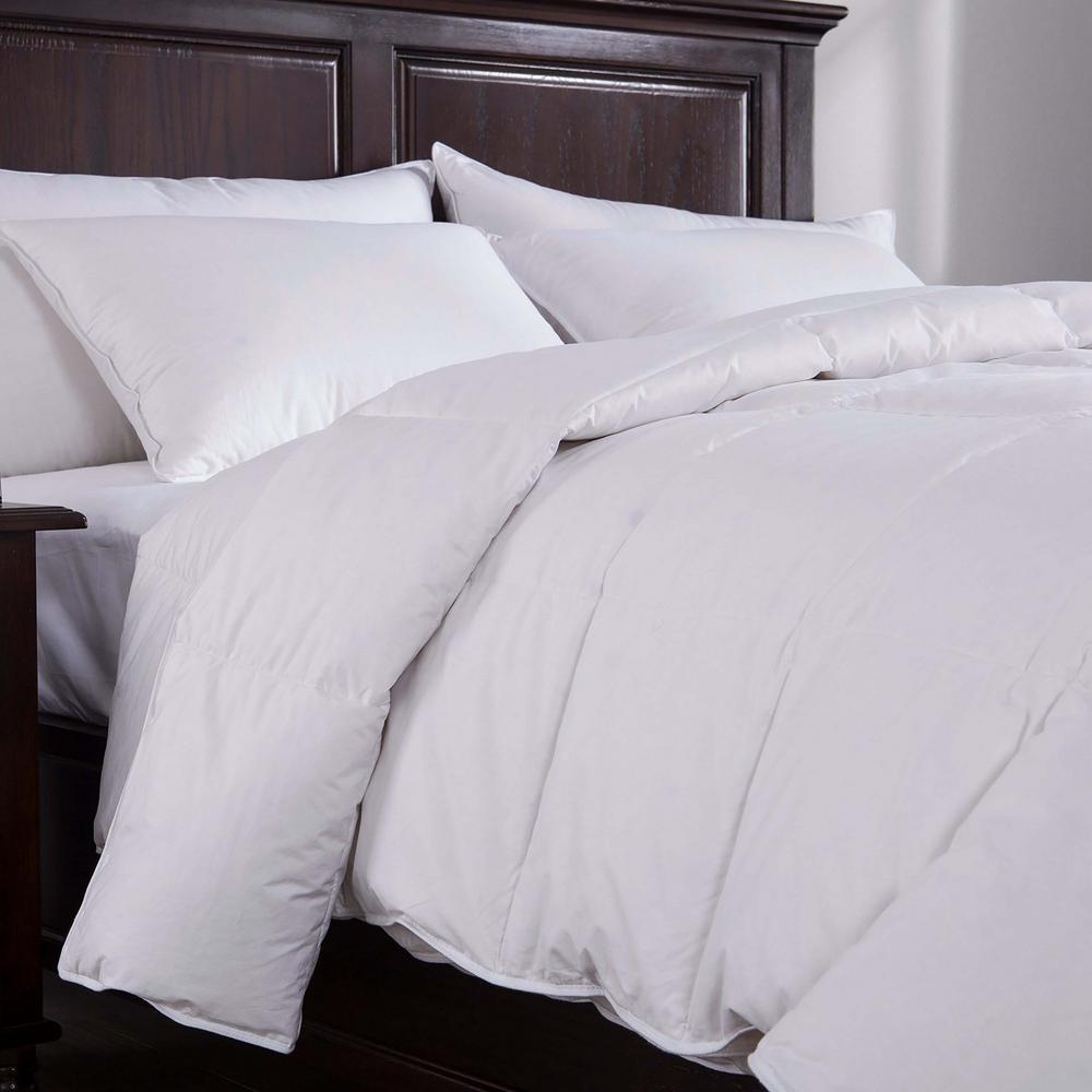 Light Warmth White Twin Down Comforter