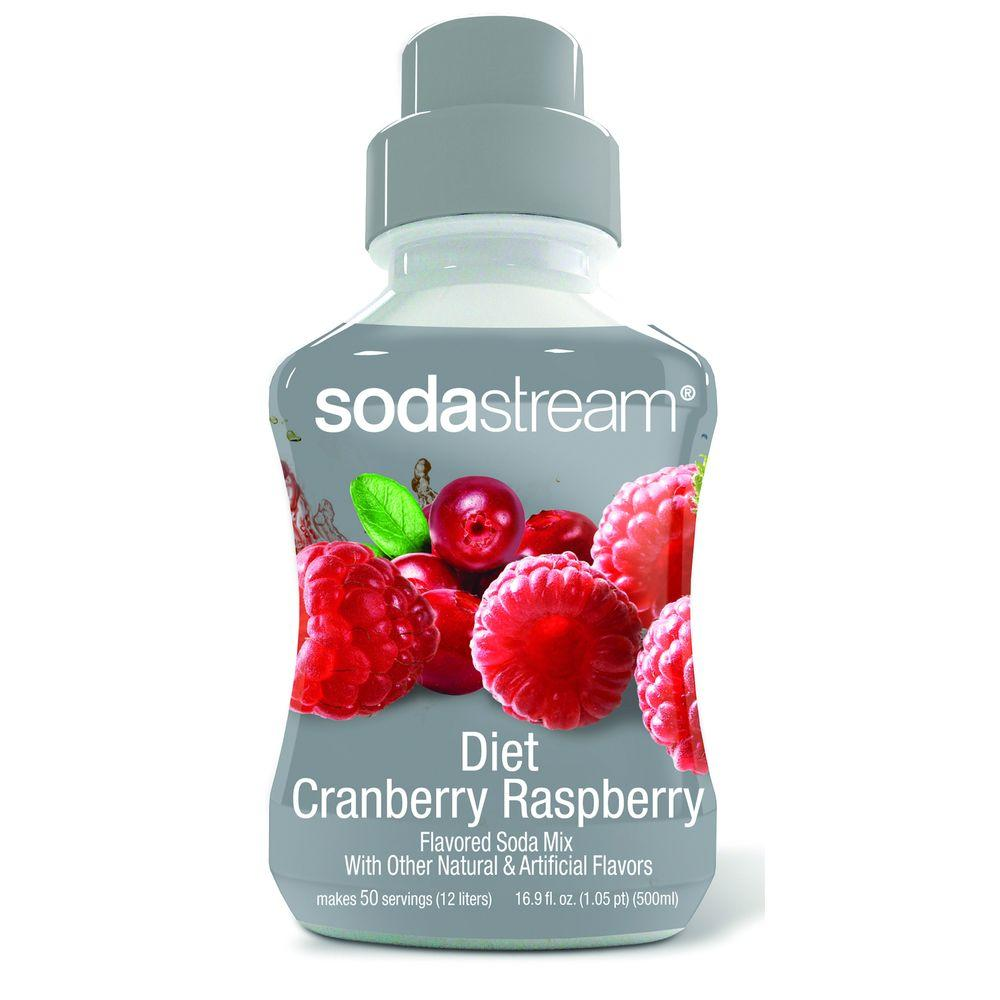 SodaStream 500ml Soda Mix - Diet Cranberry-Raspberry (Case of 4)-DISCONTINUED