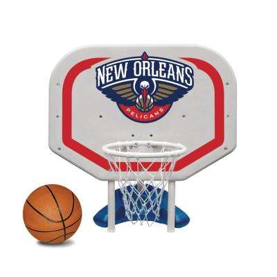 New Orleans Pelicans NBA Pro Rebounder Swimming Pool Basketball Game