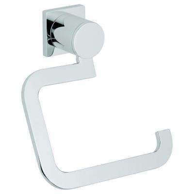 Allure Single Post Toilet Paper Holder in Starlight Chrome