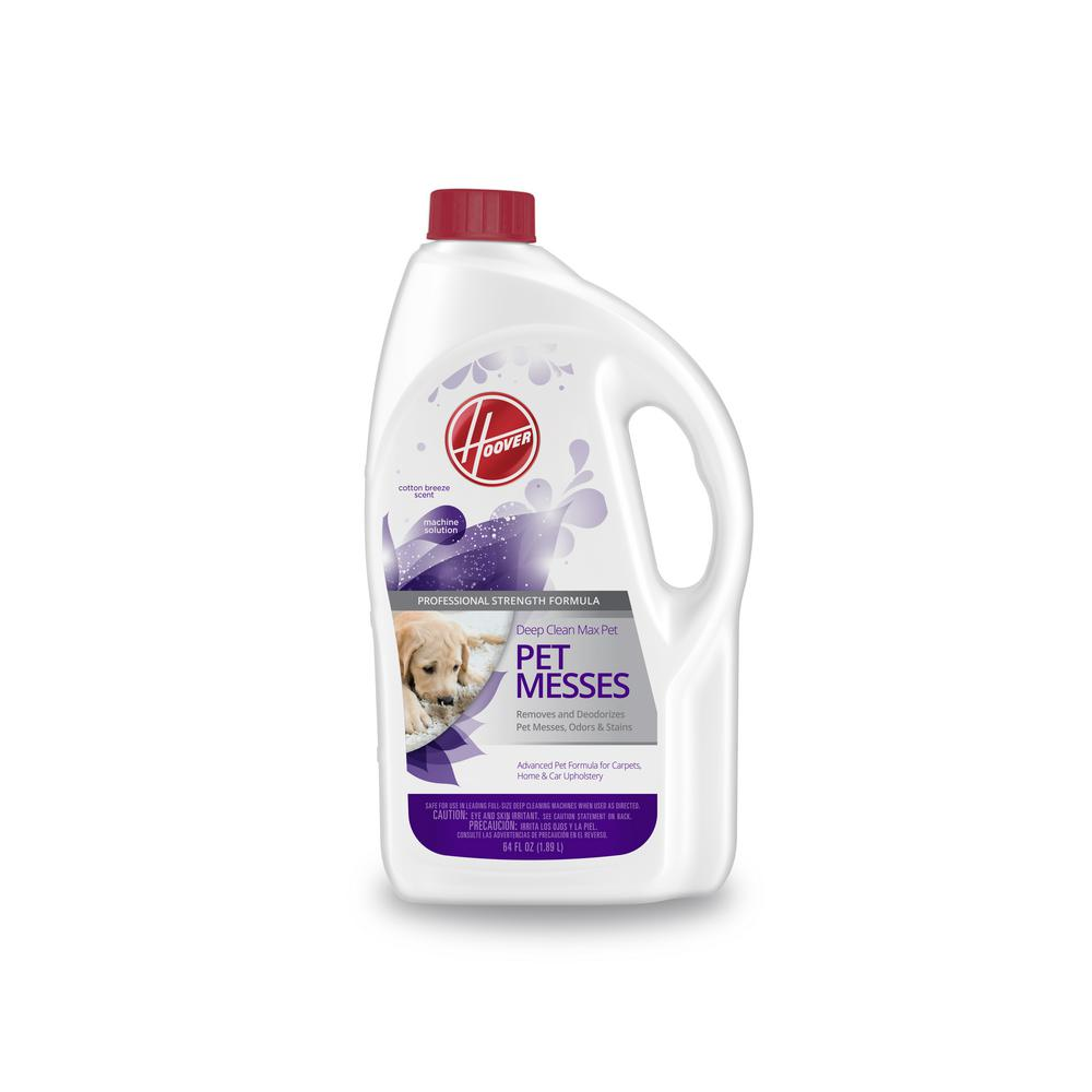 Hoover 64 Oz  Deep Clean Max Pet- Pet Messes Carpet Cleaning Solution