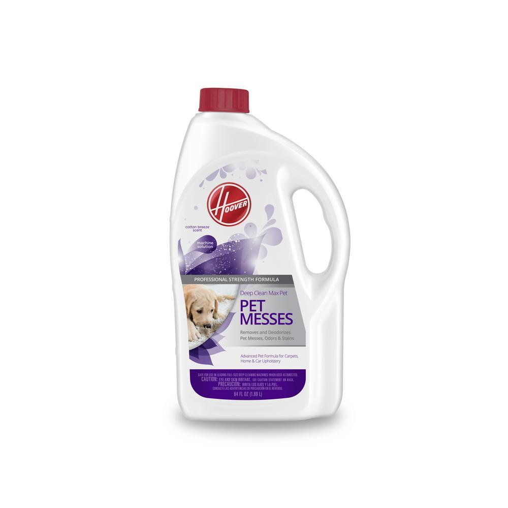 64 Oz. Deep Clean Max Pet- Pet Messes Carpet Cleaning Solution
