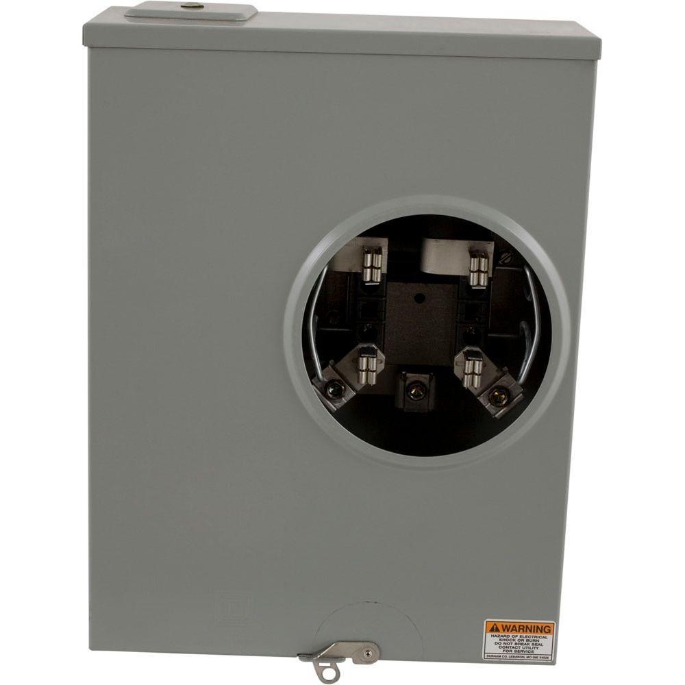 200 Amp Ringless Underground Meter Socket