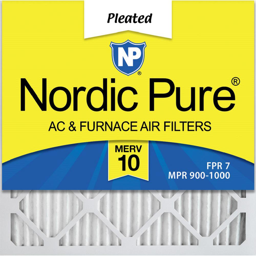 Nordic Pure 14x36x1 MPR 1900 Healthy Living Maximum Allergen Reduction Replacement AC Furnace Air Filters 2 Pack