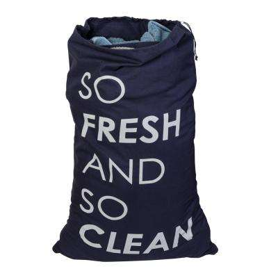 Coastal Collection Cotton Laundry Bag