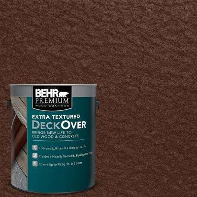 1 gal. #SC-117 Russet Extra Textured Wood and Concrete Coating