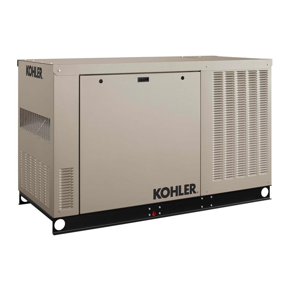 KOHLER 24,000-Watt Liquid Cooled Standby Generator