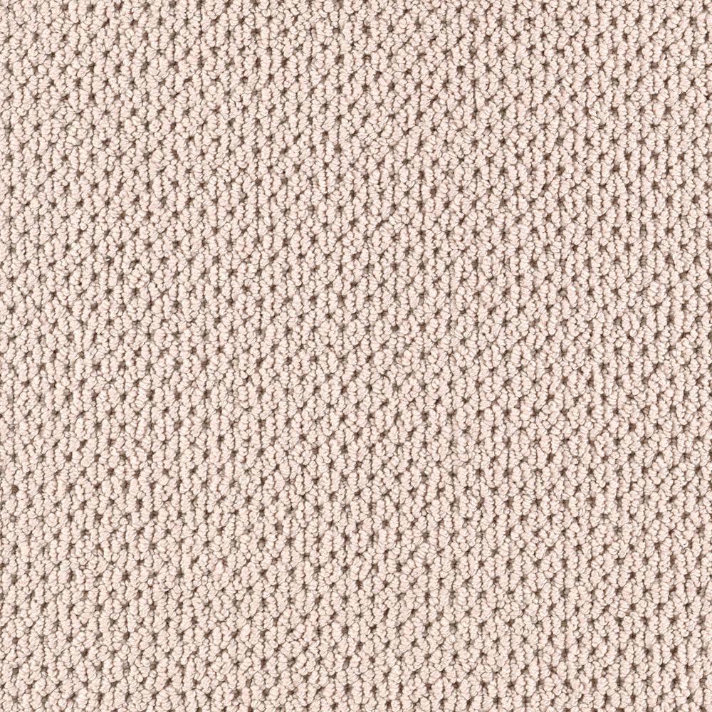 Carpet Sample-Deliverable - Color Linen Loop 8 in. x 8 in.