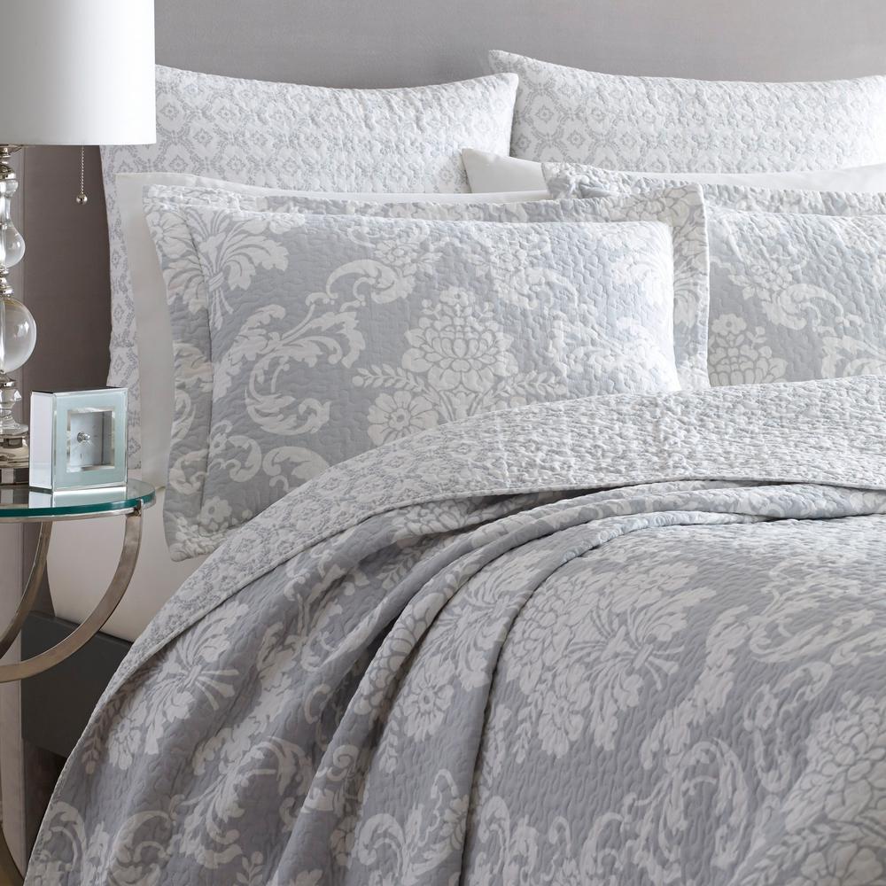 Venetia Floral Cotton Quilt Set