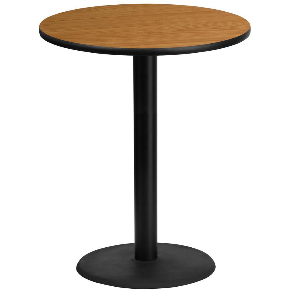 Black And Natural Laminate Table Top