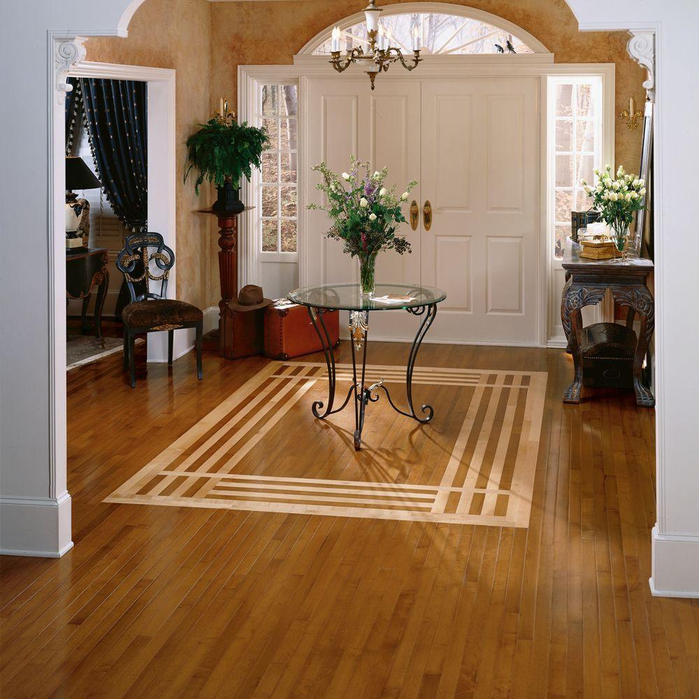 Varying Length Solid Hardwood Flooring