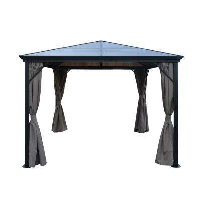 Wesson 10 ft. x 10 ft. Aluminum Gazebo with Hardtop