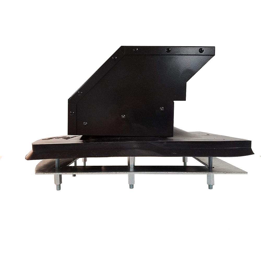 4 in. Steel Roof Exhaust Hood