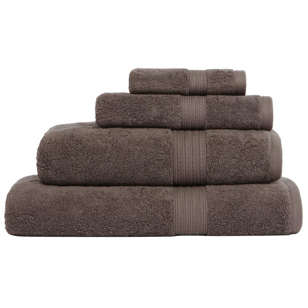 Home Decorators Collection Newport 1 Piece Bath Sheet In Charcoal 9854930270 The Home Depot