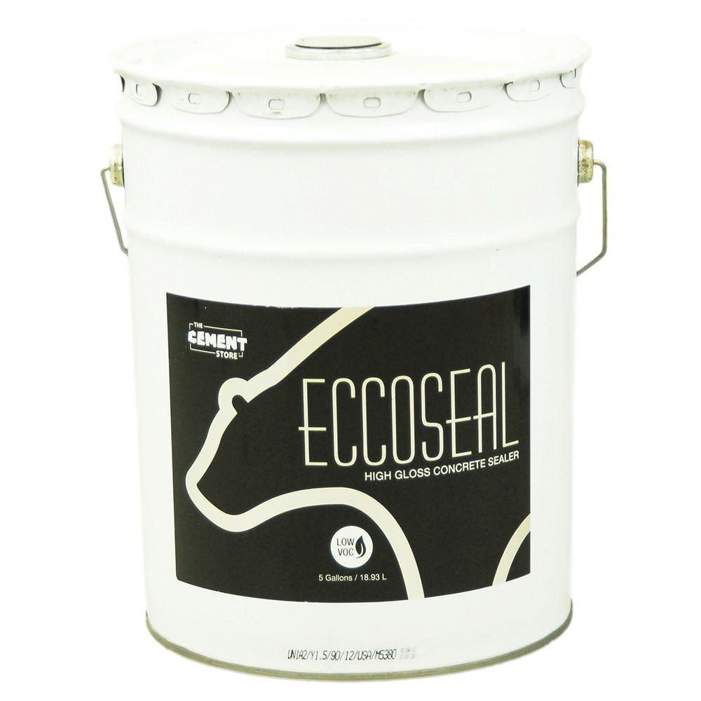The Cement Store 5 gal. Porous Concrete and Masonry Solvent-Based Water Repellent Wear Coat Acrylic Concrete Sealer