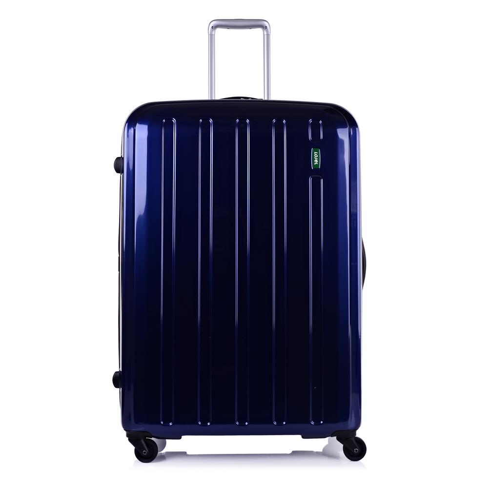 Lojel Lucid 32 In Navy Blue Hardside Spinner Suitcase
