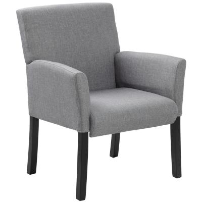Gray Contemporary Guest Chair