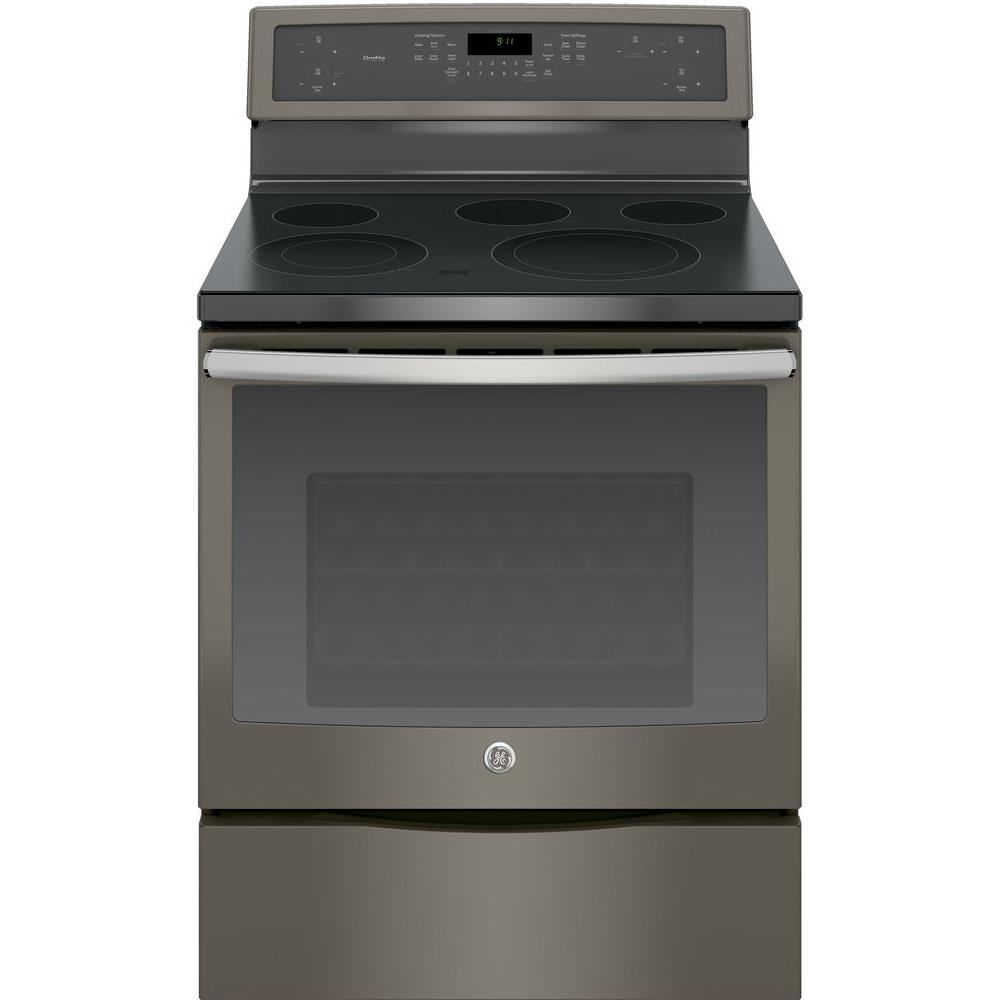 Profile 30 in. 5.3 cu. ft. Electric Range with Self-Cleaning Convection