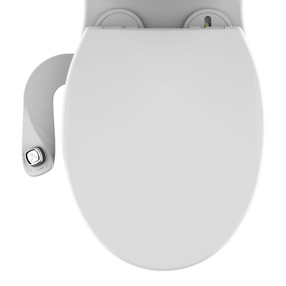 Fabulous Biobidet Slim Edge Non Electric Bidet Attachment System In White Cjindustries Chair Design For Home Cjindustriesco