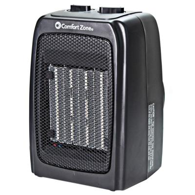 Energy Save 1500-Watt Electric Ceramic Space Heater with Adjustable Thermostat