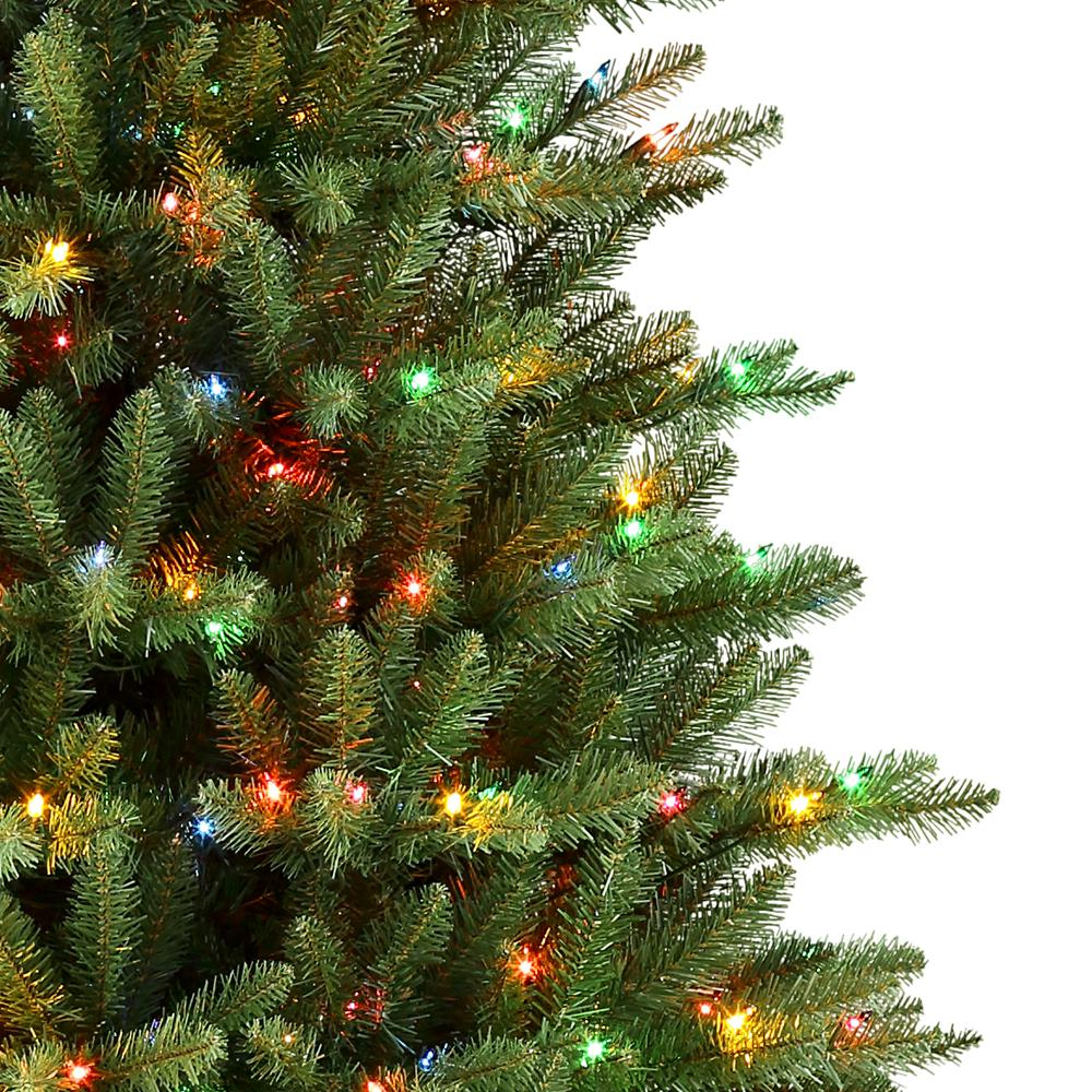 Pre Lit Christmas Trees With Clear And Multicolor Lights ...