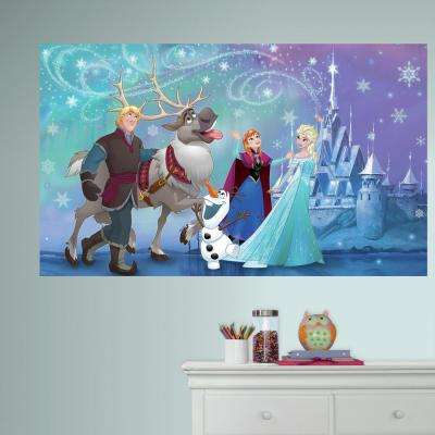 60 in. W x 36 in. H Frozen 2- Piece Peel and Stick Wall Decal Mural