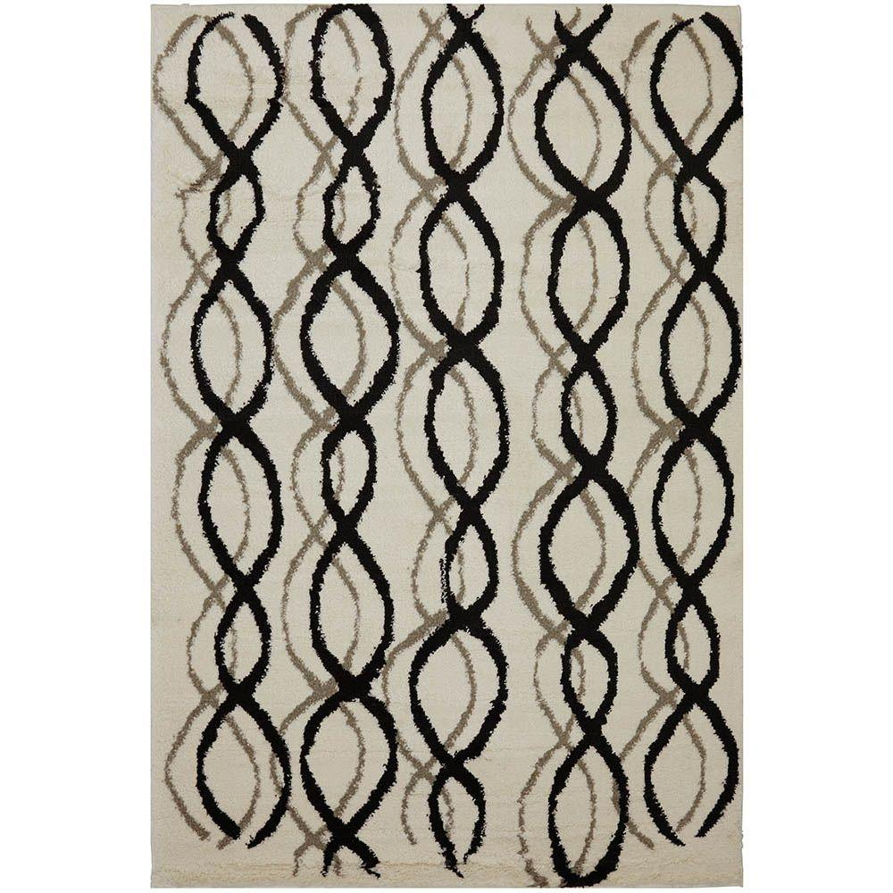 American Rug Craftsmen Rushmore Ivory 10 ft. x 14 ft. Area Rug