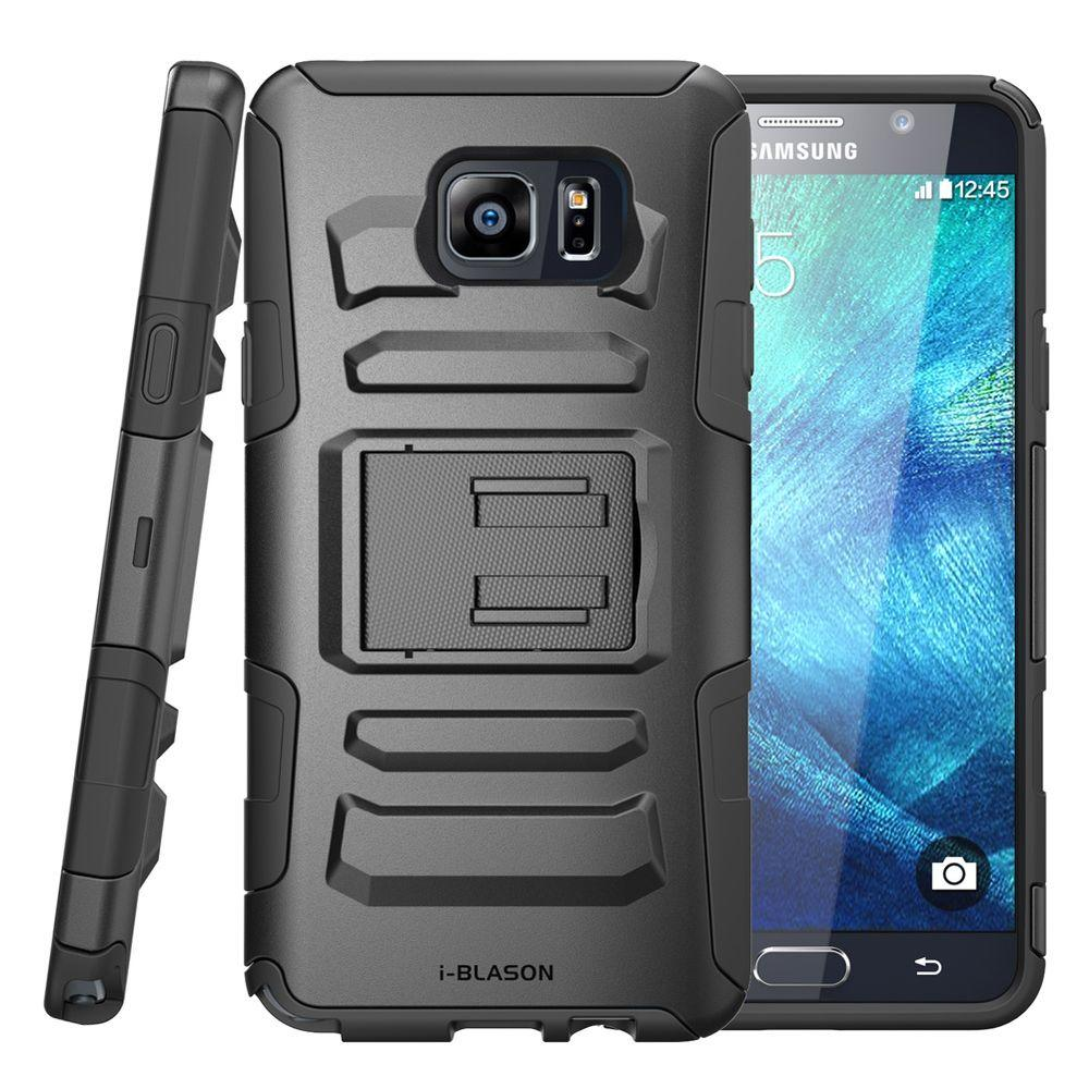 size 40 a4f28 bb5b0 i-Blason Prime Series Holster Case for Galaxy Note 5, Black