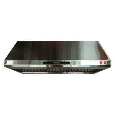 HES702 48 in. 1000 CFM Cabinet Insert Range Hood in Stainless Steel