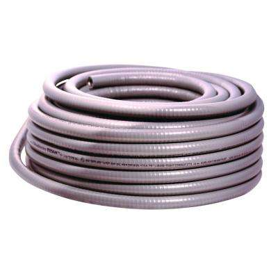 1.5 in. x 50 ft. Liquidtight Flexible Metallic Titan Steel Conduit