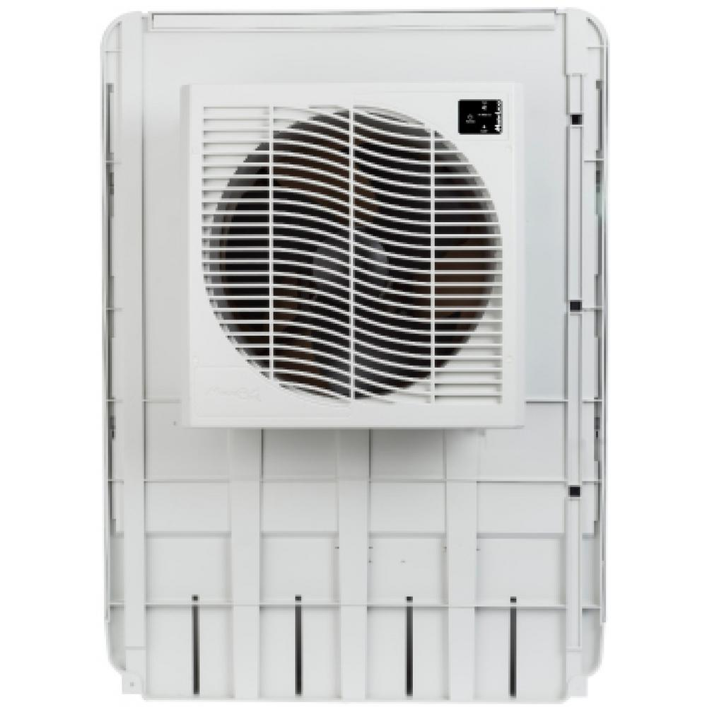 Mastercool 3200 Cfm Slim Profile Window Evaporative Cooler For 1600 Sq Ft