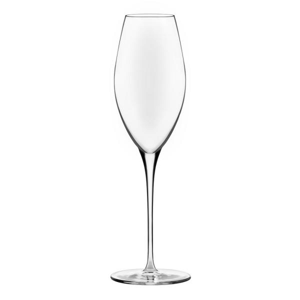 Signature Westbury 8.75 oz. Champagne Flute Glass (4-Pack)