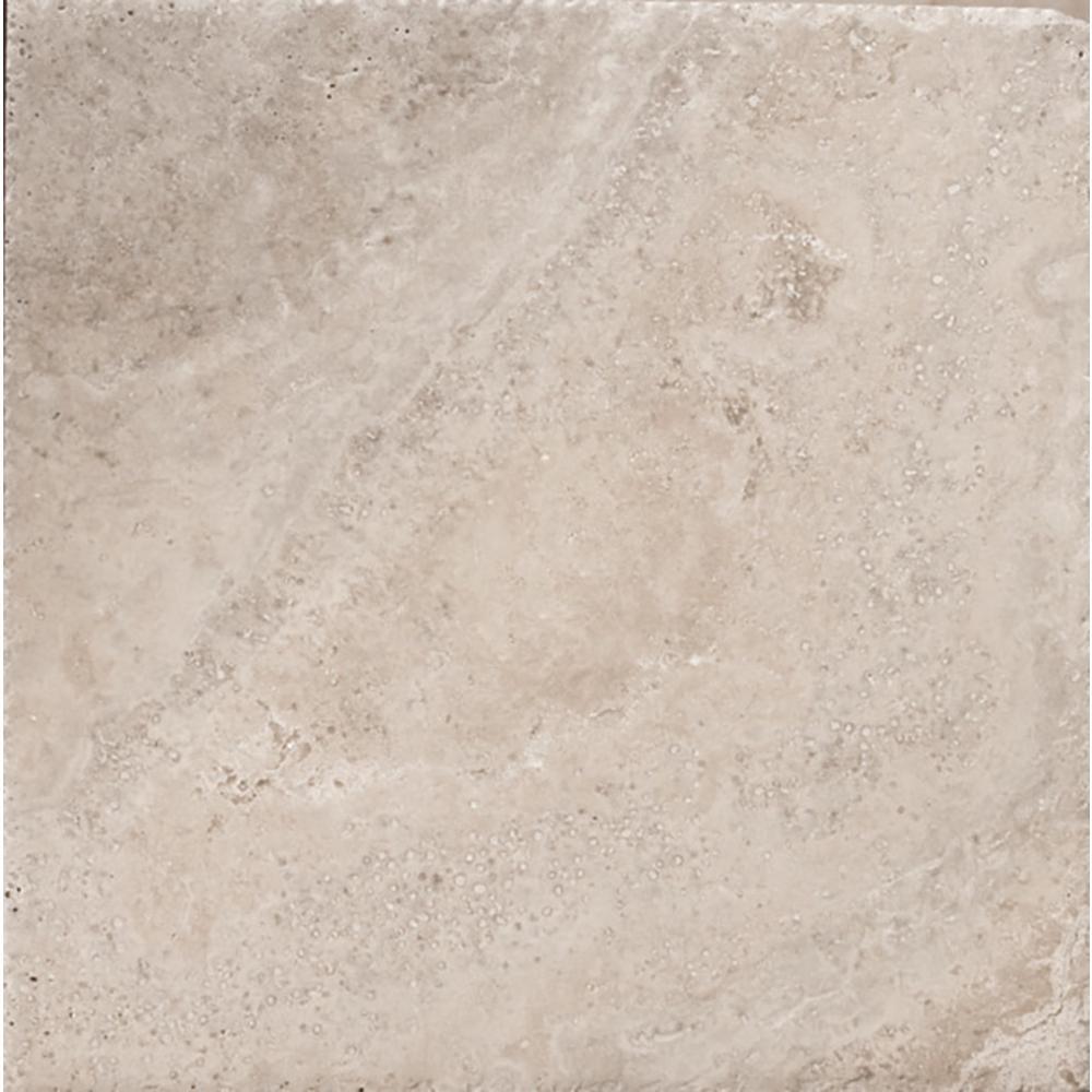 Trav Chiseled Philadelphia 7.99 in. x 7.99 in. Travertine Wall Tile (0.44 sq. ft.)