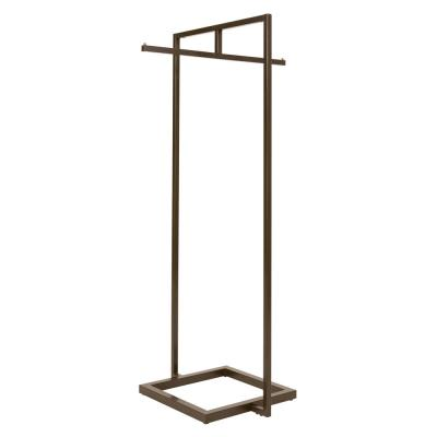 Linea Statuary Bronze Metal Clothes Rack (30 in. W x 66 in. H)