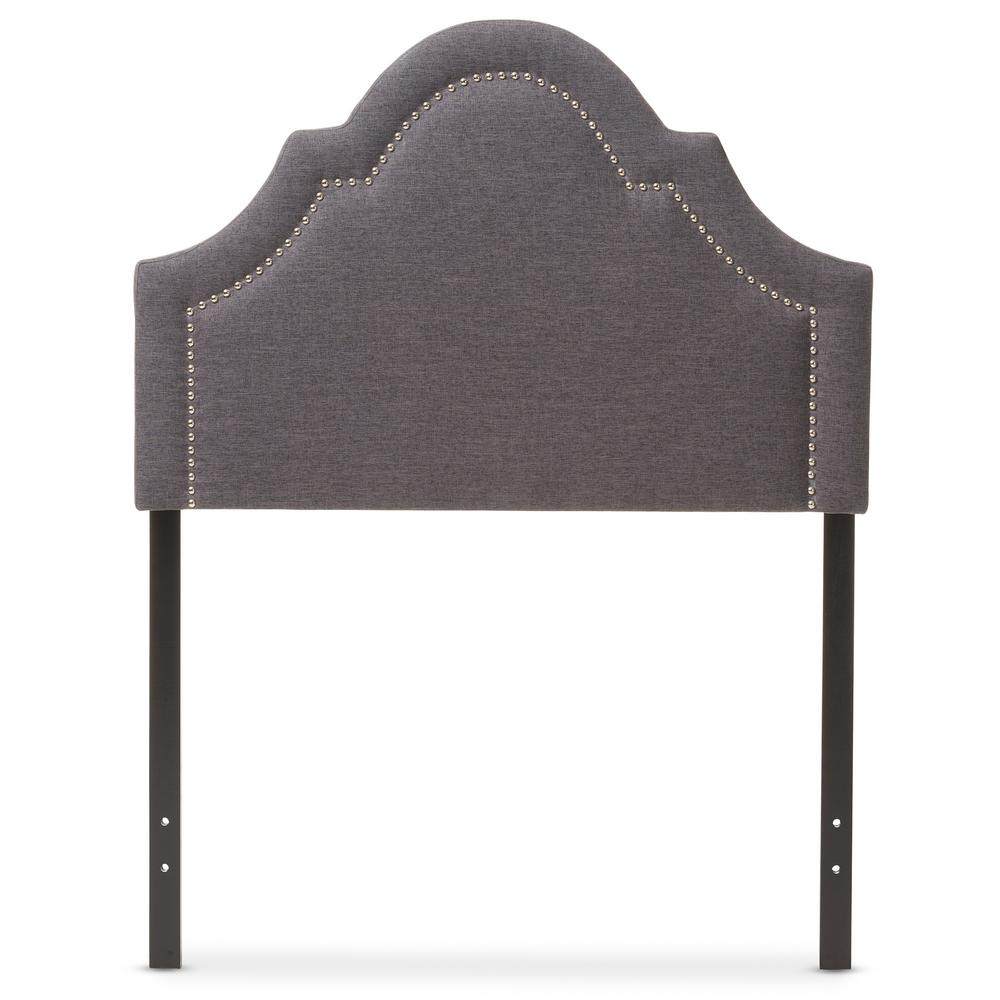 Baxton Studio Ritta Gray Twin Headboard Product Photo